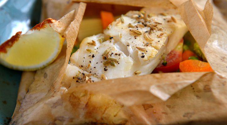 Come fare il filetto di cernia al cartoccio con la ricetta facile