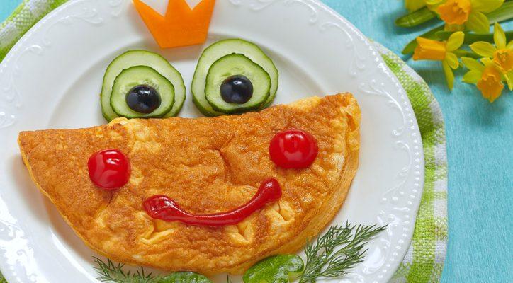 La ricetta della frittata per bambini, leggera e gustosa