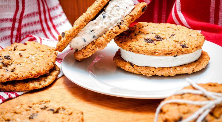 Il gelato biscotto: ecco la ricetta per farlo in casa