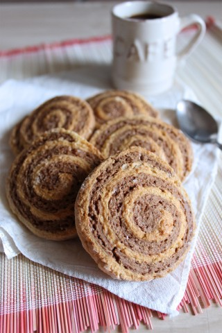 Girelle al caffè: biscotti vegani