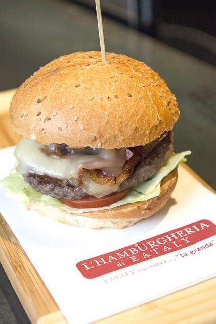 hamburgeria eataly torino