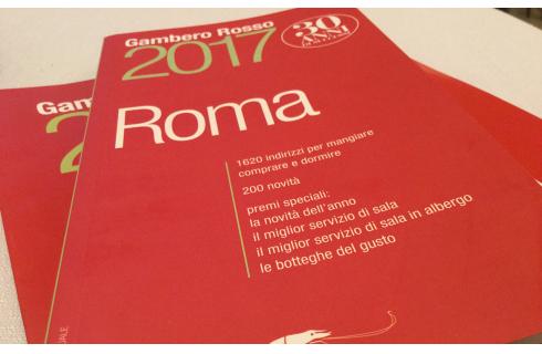 I migliori ristoranti di Roma secondo la guida 2017 del Gambero Rosso