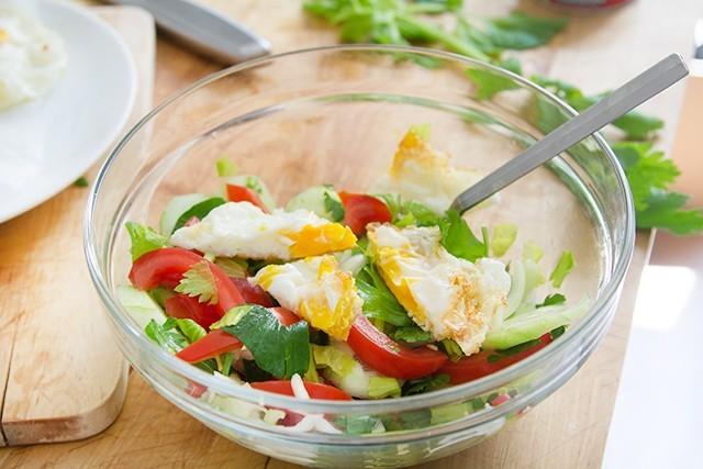 insalata di uova fritte (4)