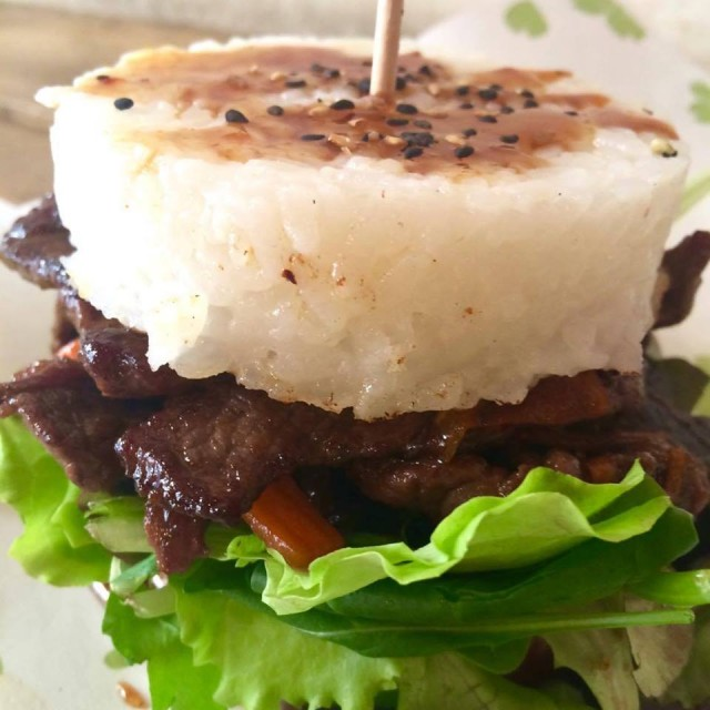 maido rice burger