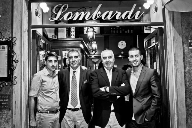 Enrico Lombardi e Carlo Alberto Lombardi della Pizzeria Lombardi di Napoli