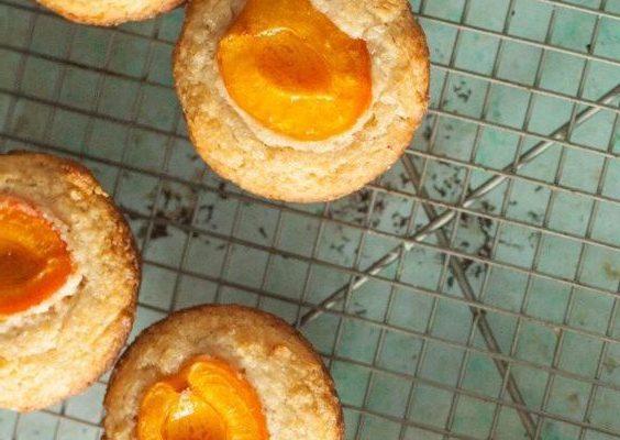 I muffin alle albicocche e lavanda con la ricetta originale