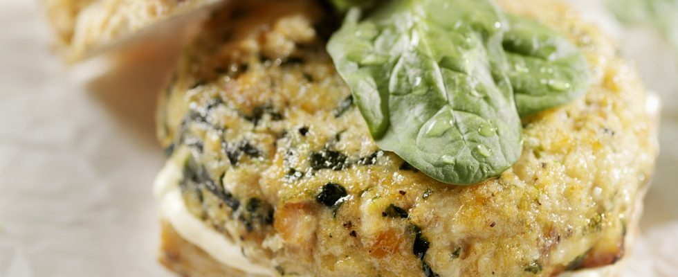 Le polpette di ricotta e spinaci con la ricetta al forno