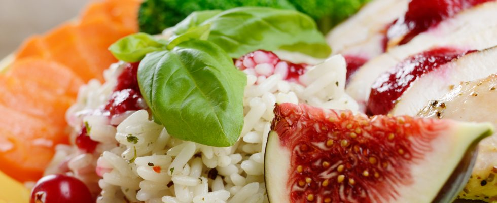 Il risotto fichi e speck da provare con la ricetta facile