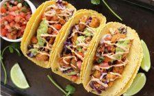 I tacos con pollo e guacamole con la ricetta sfiziosa