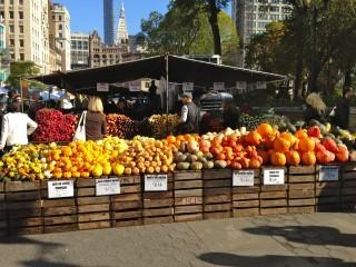 New York: un giro al mercato con la chef