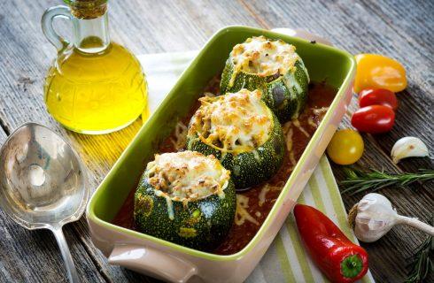 Le zucchine ripiene vegan al forno, la ricetta da provare