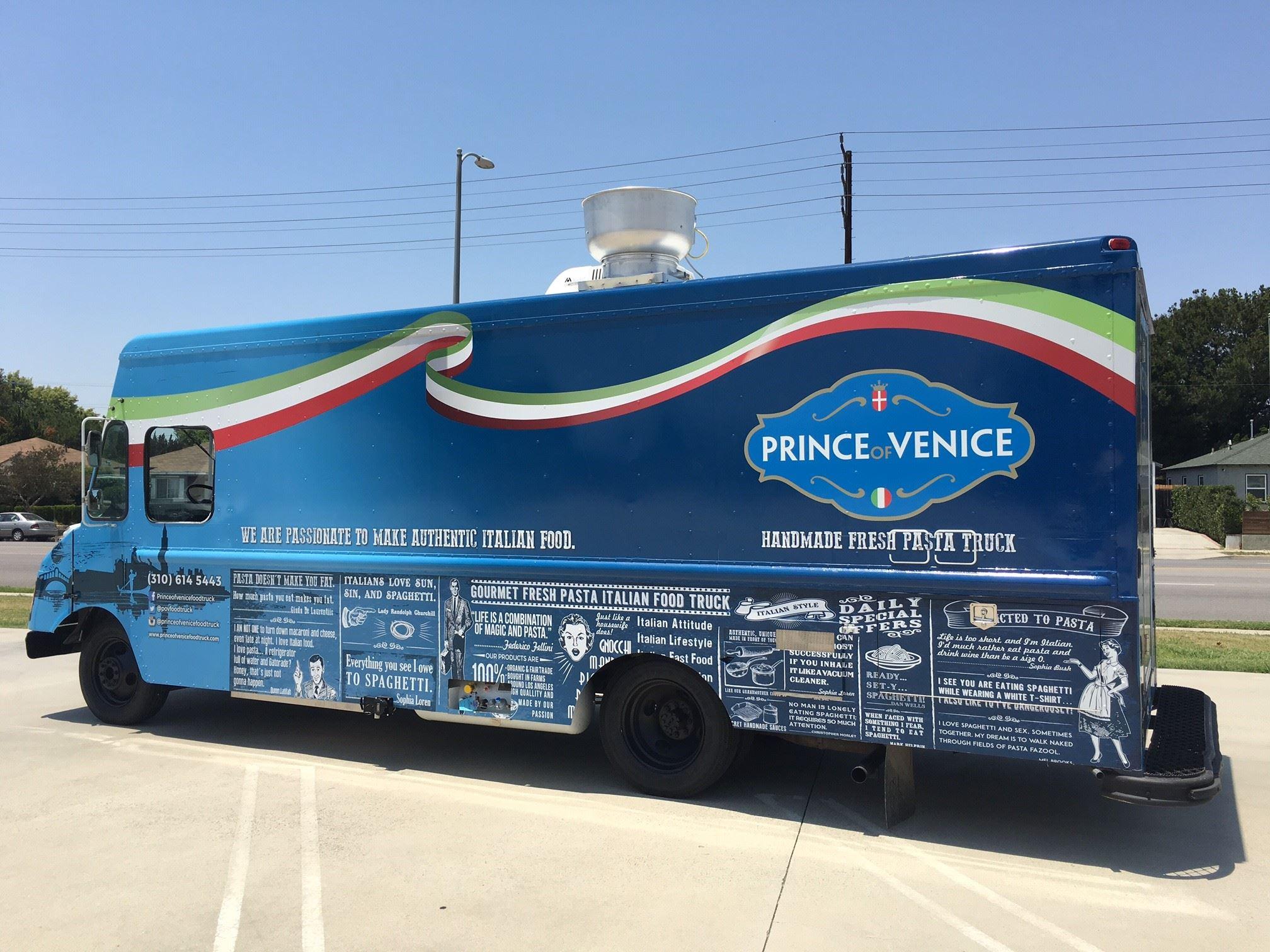 Los angeles il food truck regale di emanuele filiberto for Food truck bar le duc