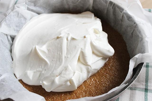 Cheesecake vegana FOTO 4