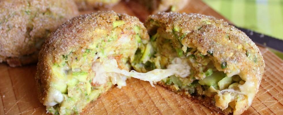 Polpette di pane e zucchine: cucina vegetariana