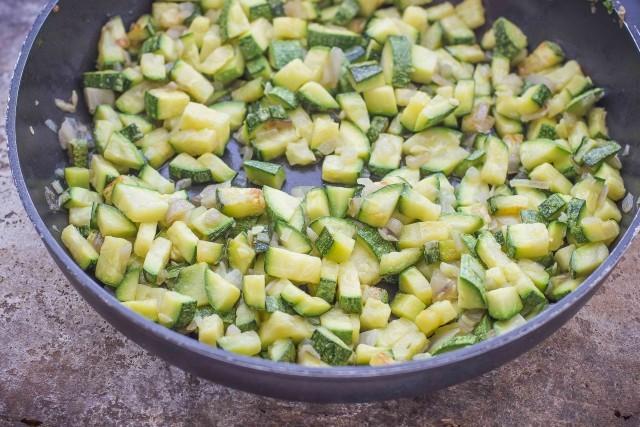 Step 1 risotto con zucchine