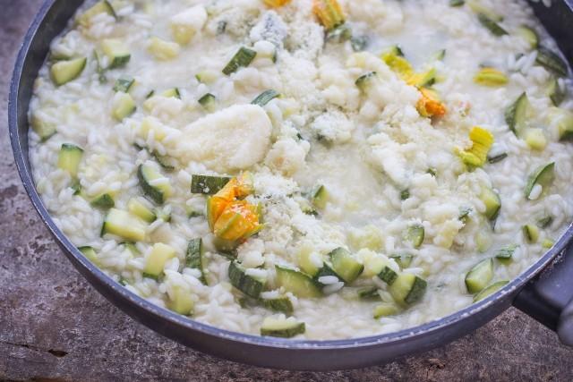 Step 3 risotto con zucchine