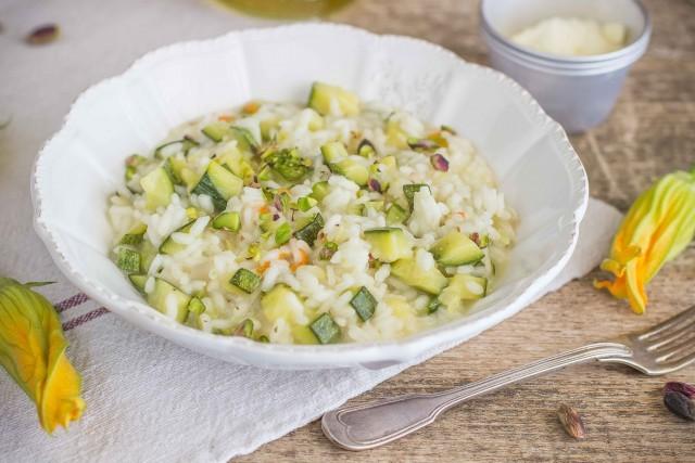 Still life 2 risotto con zucchine