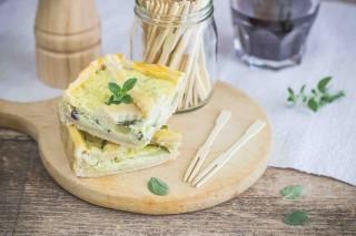 Crostata salata: zucchine e ricotta