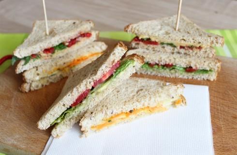 Tramezzini vegani in 3 varianti