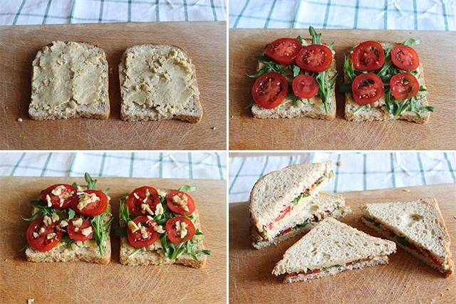 Tramezzini veganiFOTO 2