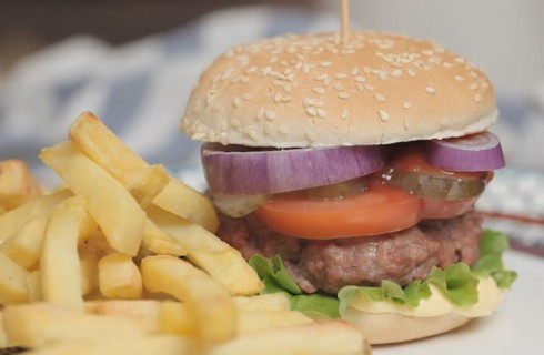 American burger da fare in casa