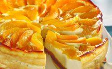 La cheesecake alle pesche sciroppate da preparare con il Bimby