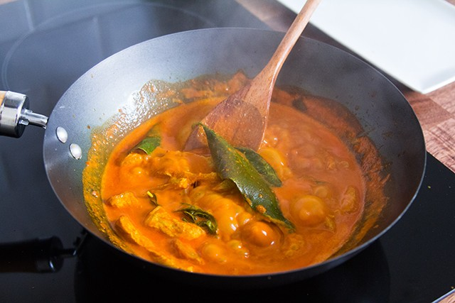 curry rosso con maiale (4)