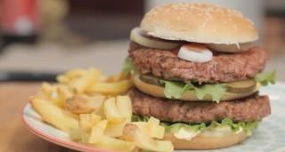 Doppio hamburger, come fanno in Usa