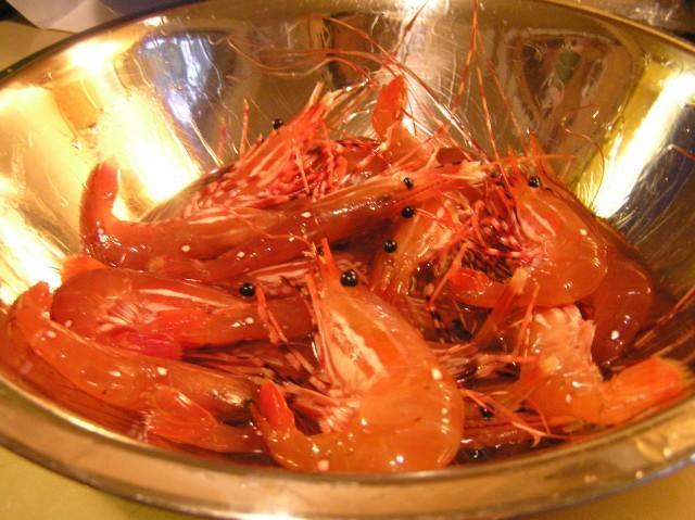 drunken shrimps