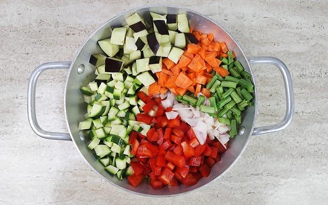 gnocchi integrali con verdure step (1)