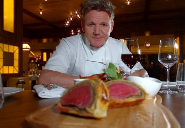 gordon ramsay filetto alla wellington