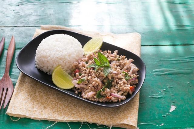 insalata di maiale piccante (7)