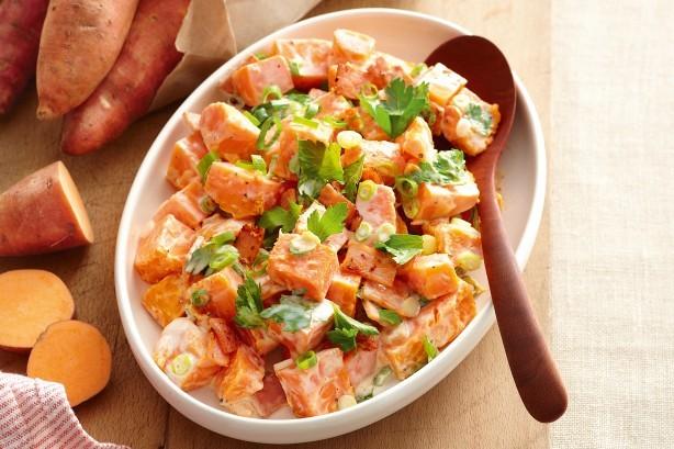 insalata di patate dolci