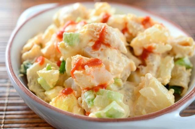 insalata di patate piccante