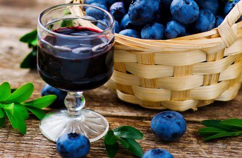 L'uva fragola nella ricetta per fare il liquore