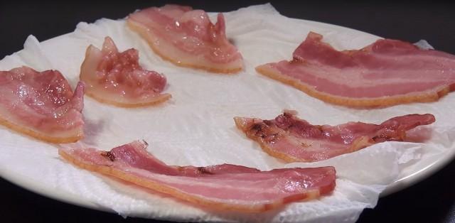 microonde hack - bacon