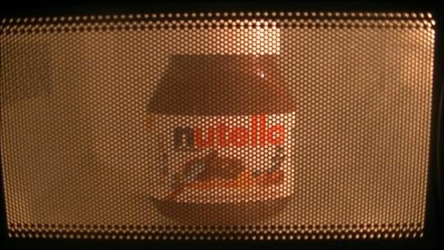 nutella nel microonde