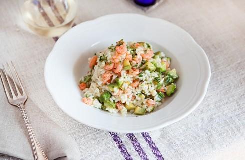 Risotto gamberi e zucchine, ricetta semplice e gustosa