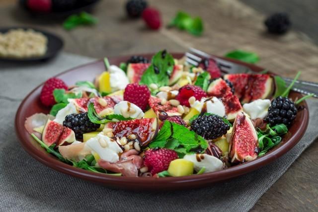 insalata dolce con feta