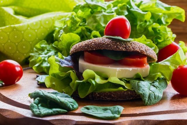 hamburger feta