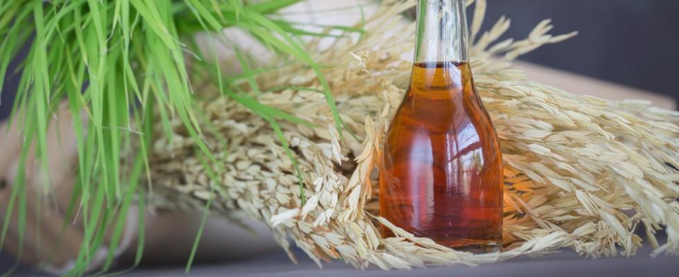 Cos'è l'olio di riso?