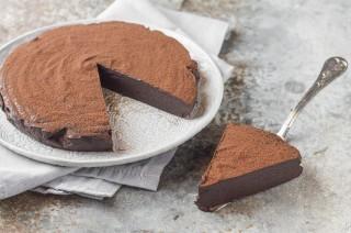 La torta tutto cioccolato