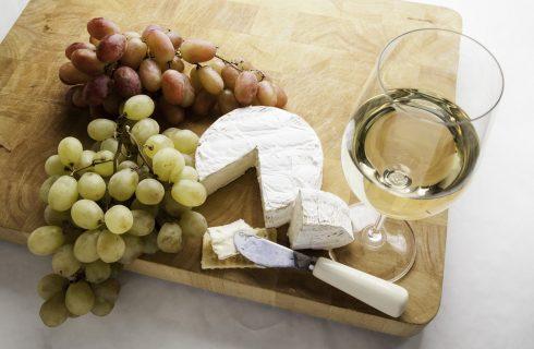 L'uva nell'antipasto con la ricetta gustosa