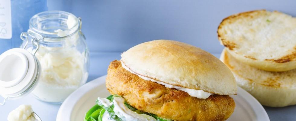 Burger di merluzzo: fresco e leggero