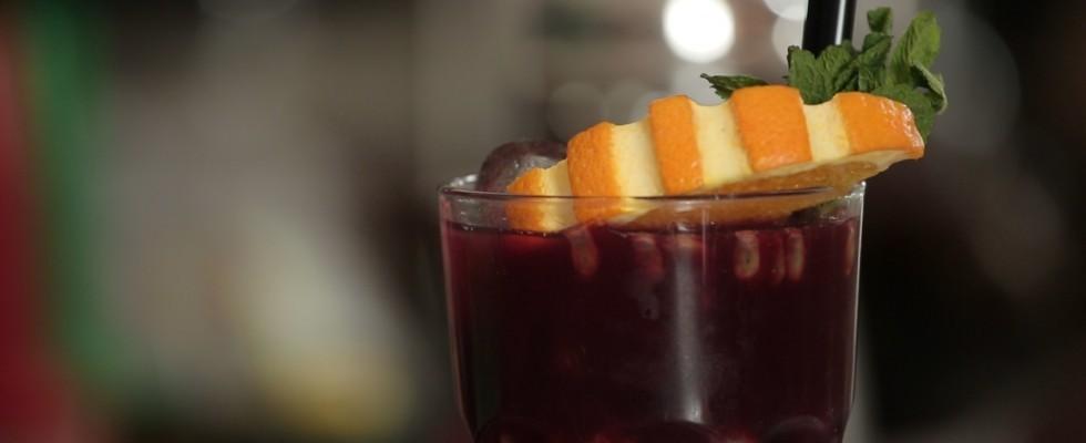 Rosso di sera, il video cocktail