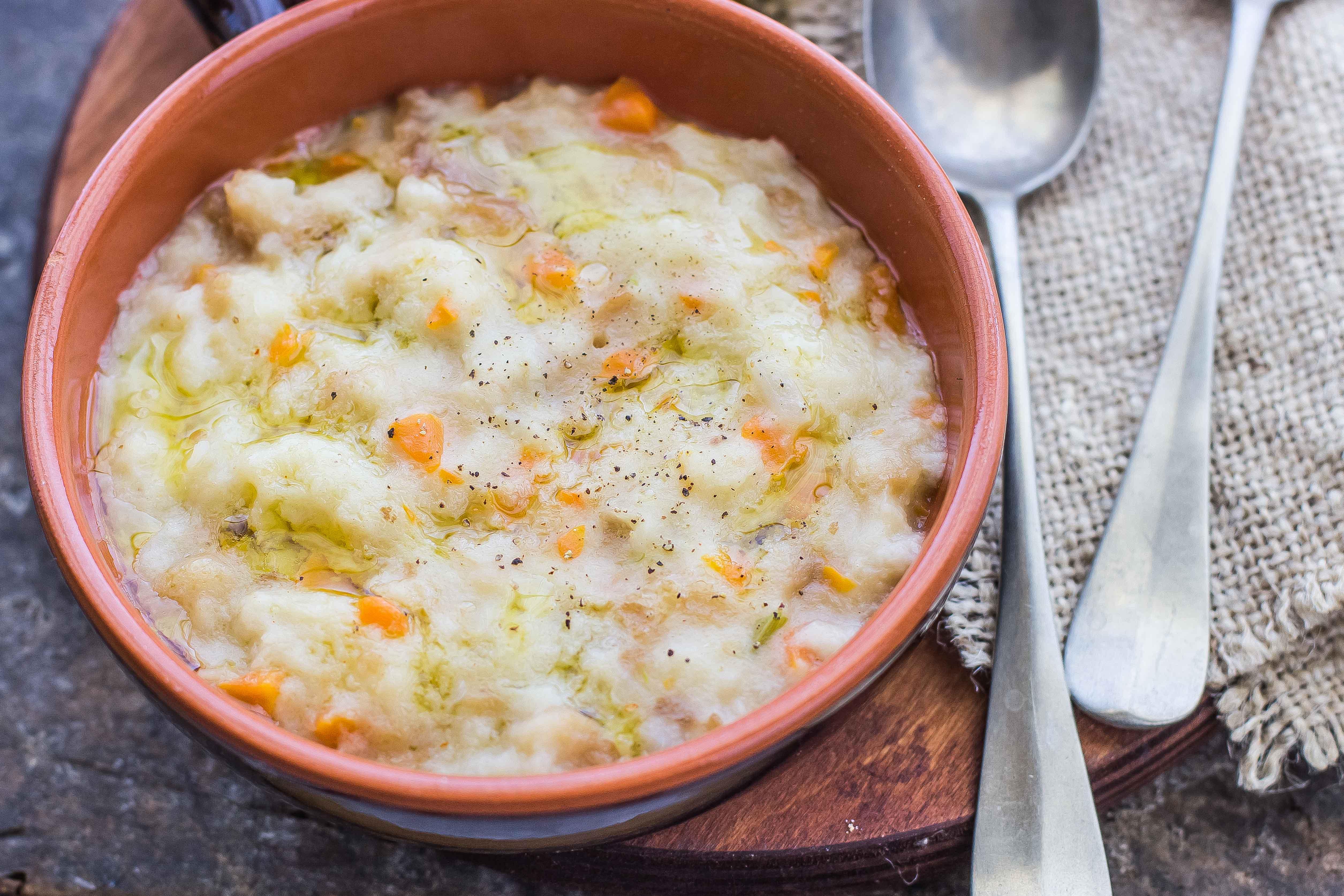 Ricetta pancotto toscano cucina povera agrodolce for Piatto della cucina povera