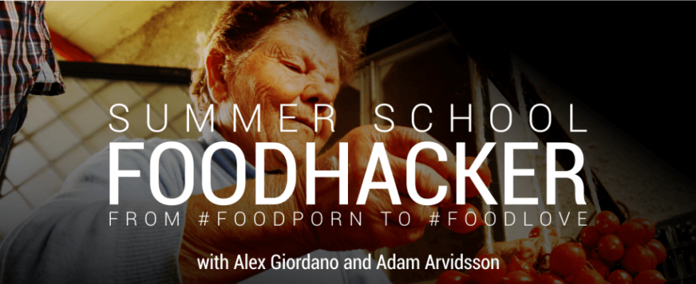 FoodHacker: una scuola per lo storytelling del food