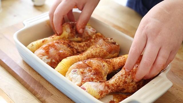 fusi di pollo al forno (2)