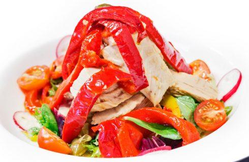 L'insalata di peperoni e tonno facile da preparare
