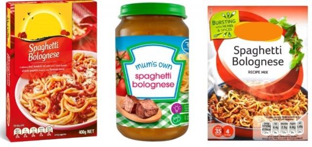 spaghetti bolognese tot